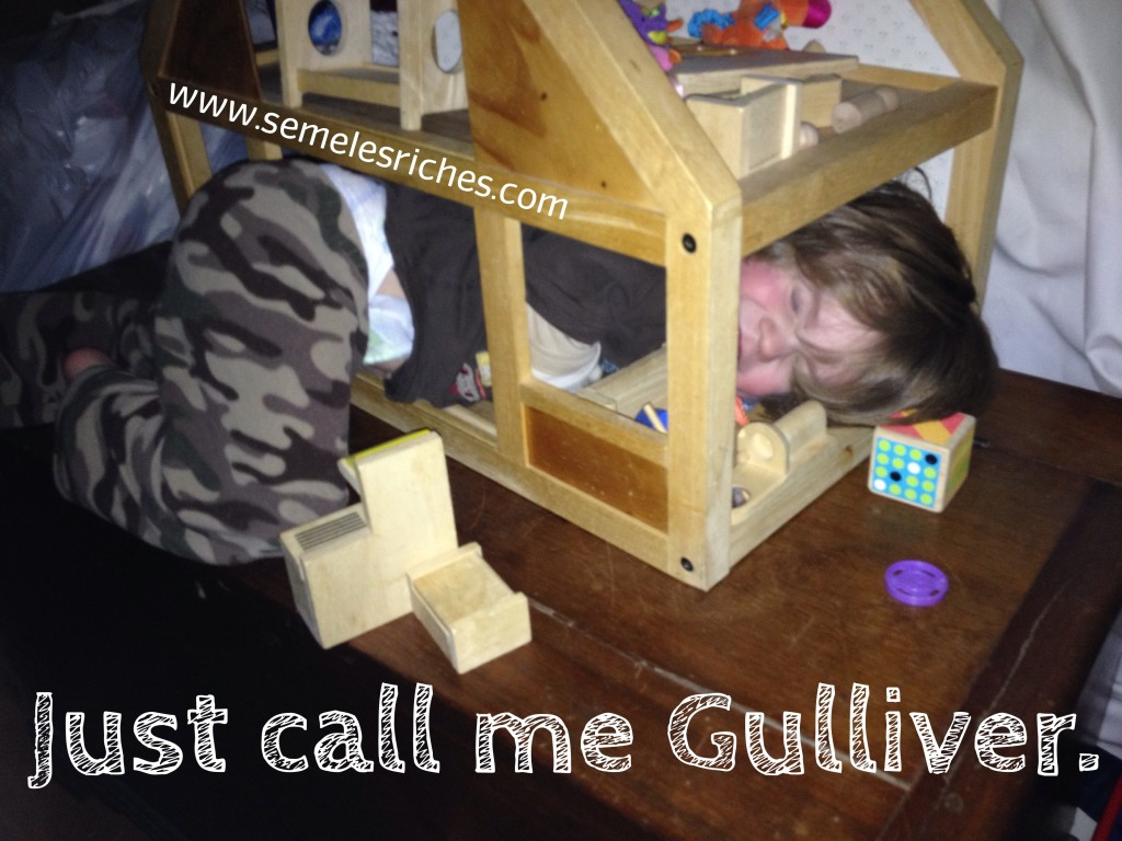 Just call me Gulliver.